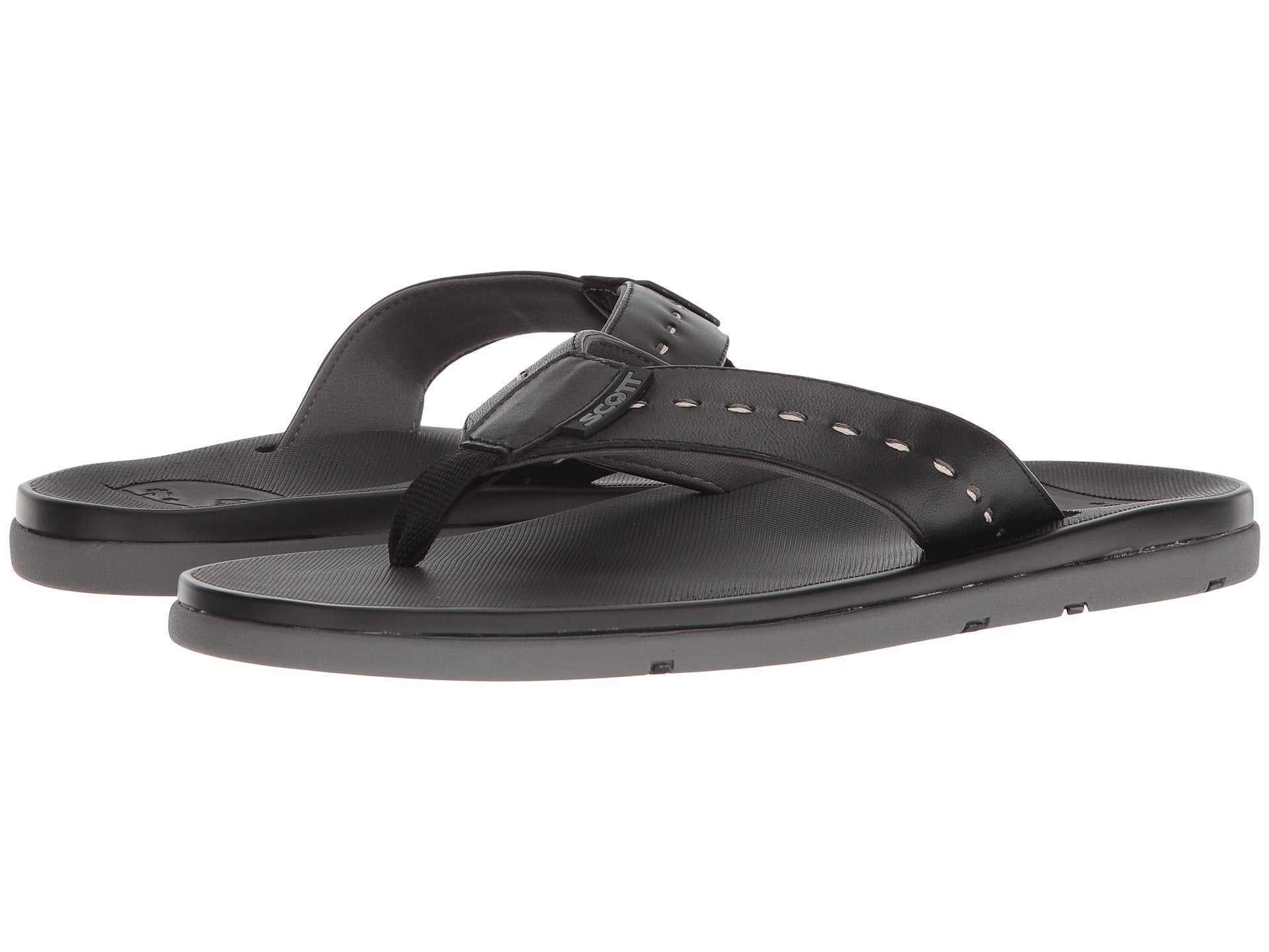 Scott's Sophisticated Alika Leather Sandal | Neoprene Strap | Hand Crafted Footwear - AlohaShoes.com