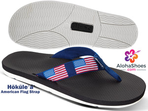 USA Flag Military Flip-Flops & Sandals - AlohaShoes.com