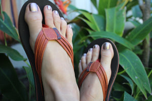 Scott Hawaii Haiku Sandal ~ Amber - Alohashoes.com