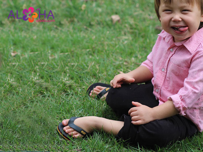 Scott Manini Rubber Slipper for Boys and Girls - AlohaShoes.com