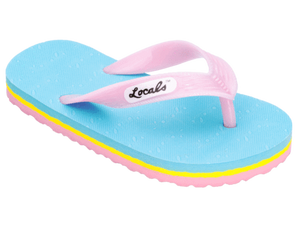 0e2e35f2fb2f Kids Locals Slippers Striped Rubber Flip Flops from Hawaii ...