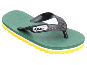 Kids Locals with Green Bay Packers Stripes - Alohashoes.com