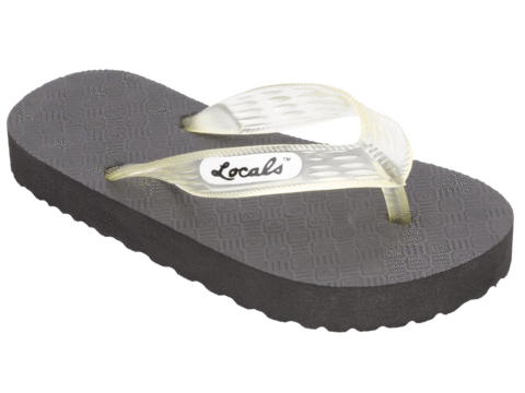 b205a3608a17d Kid s Locals Slippers with Colored Translucent Straps - AlohaShoes.com.  Kid s Locals Slippers with Colored Translucent Straps - AlohaShoes.com
