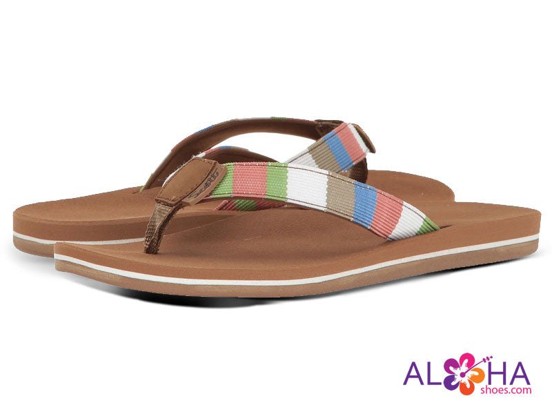 Scott Anuenue Rainbow Neoprene Strap Sandals | Arch Support - AlohaShoes.com