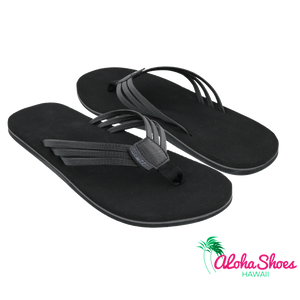 Scott Hawaii Haiku Sandal ~ Black - Alohashoes.com