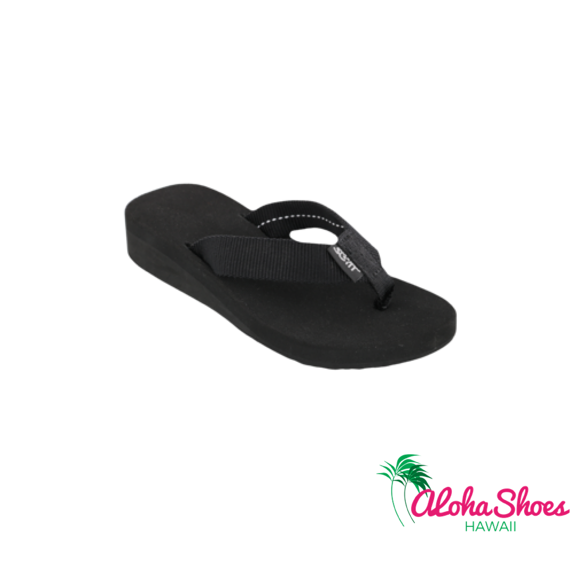 Scott Hawaii Girl's Flip Flops Ele Ele Wedge - AlohaShoes.com