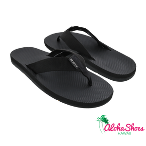Scott Hawaii Men's Makaha Slipper ~ Black