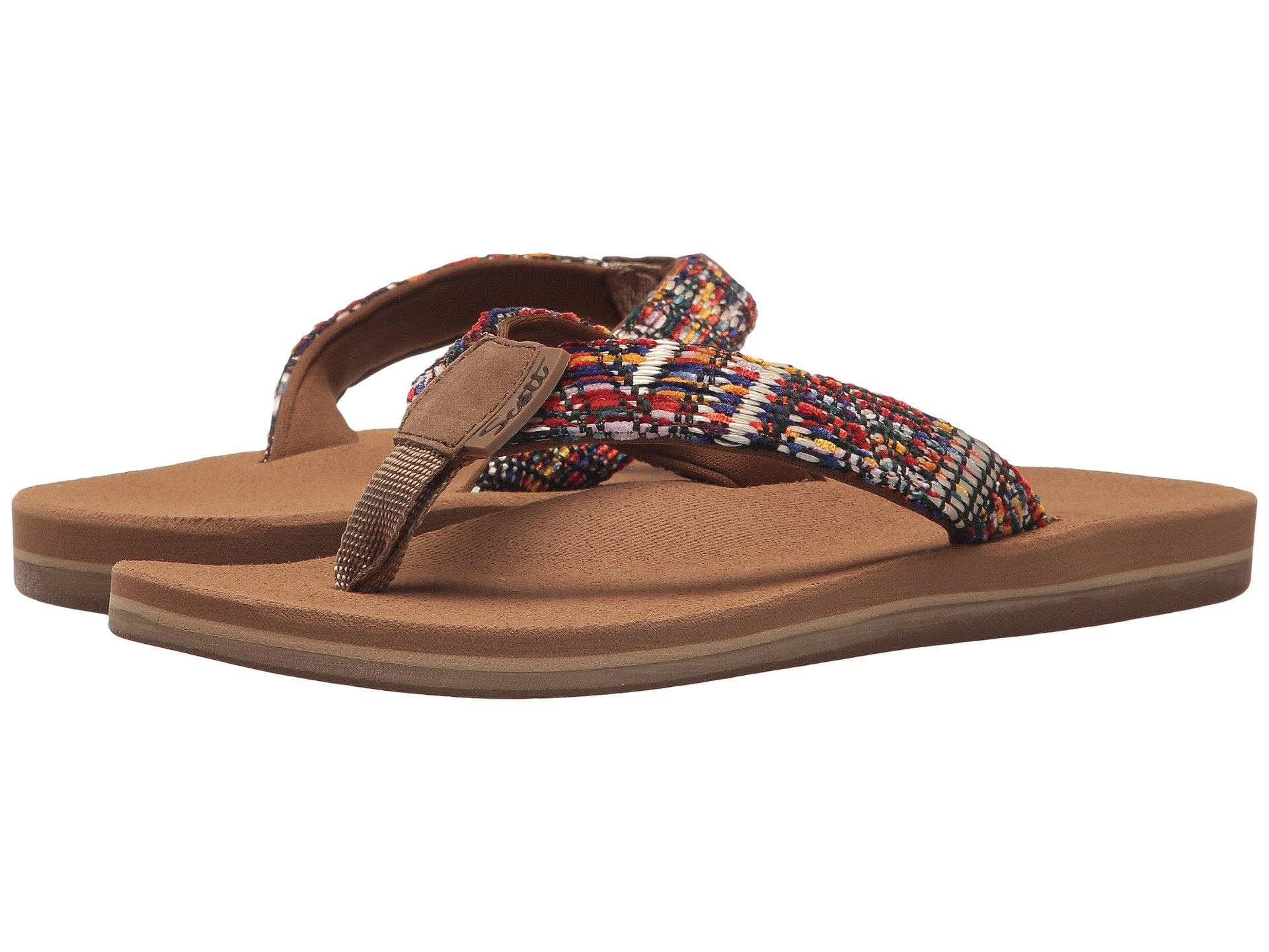 Women's Walea Flash | Rainbow Neoprene Strap - AlohaShoes.com