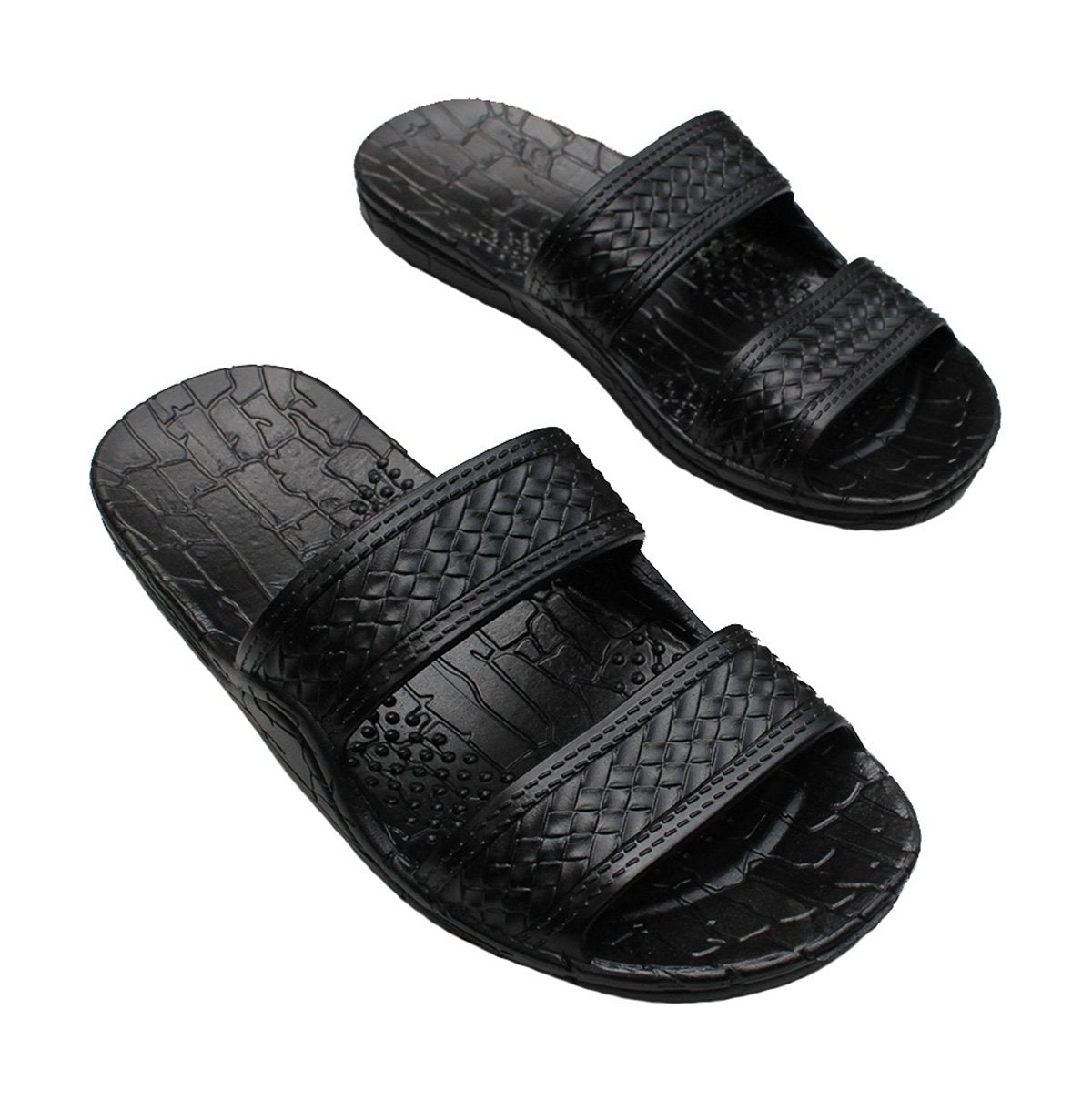Brown Jesus Sandals | Black Jandals From Hawaii - AlohaShoes.com