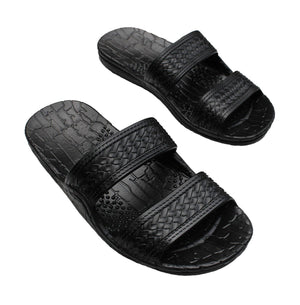 Brown Jesus Sandals & Black Jandals From Hawaii- AlohaShoes.com