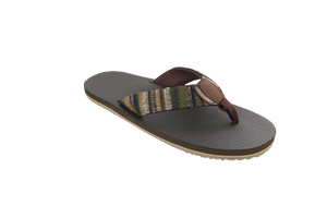 Men's Aina Woven Strap Style Slippers- AlohaShoes.com