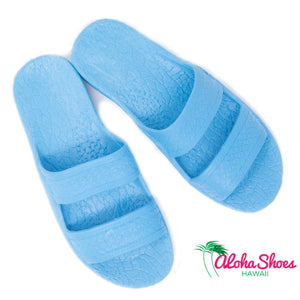 Pali Hawaii Sandals Sky Blue From Aloha Shoes