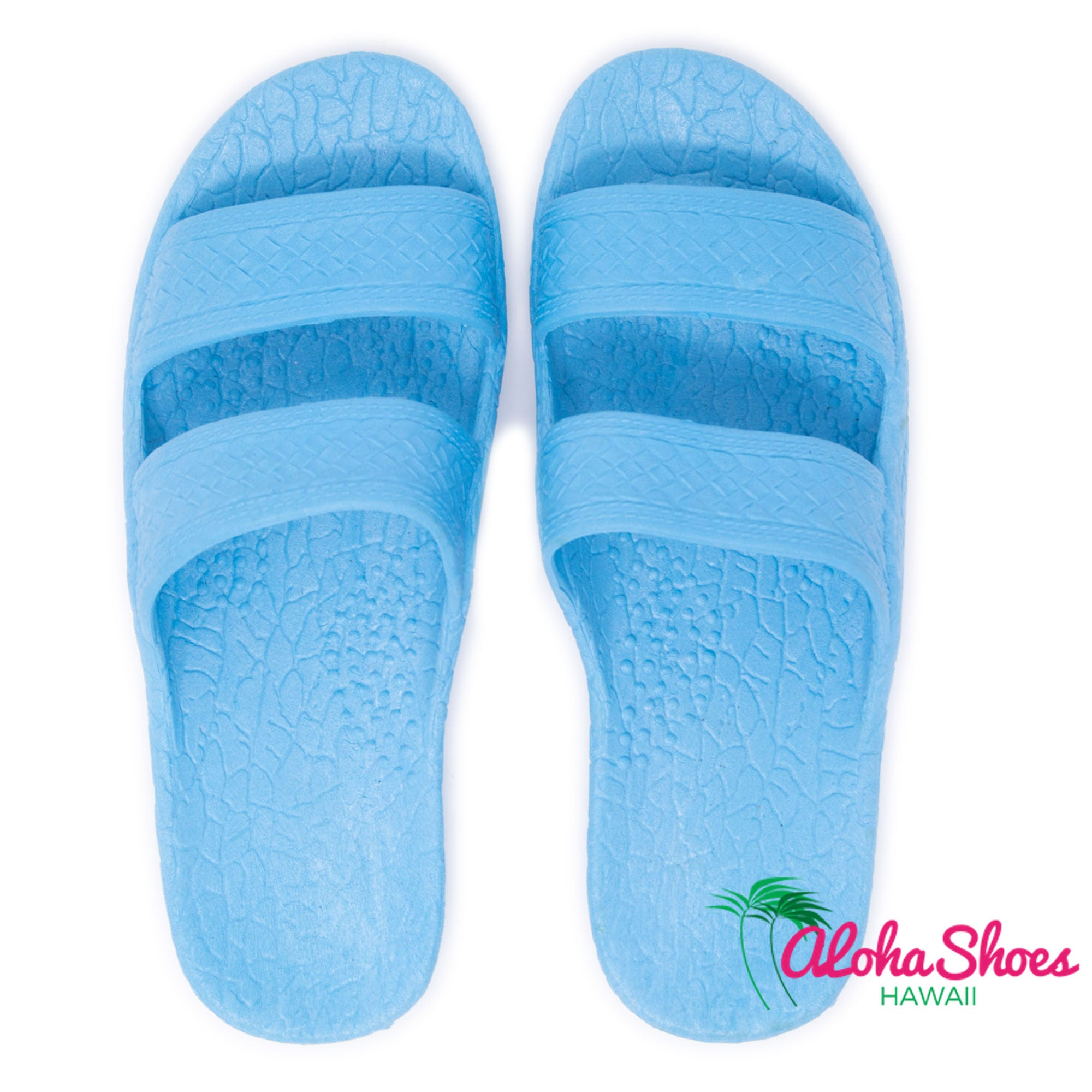 Jesus Sandals In Blue From Aloha Shoes