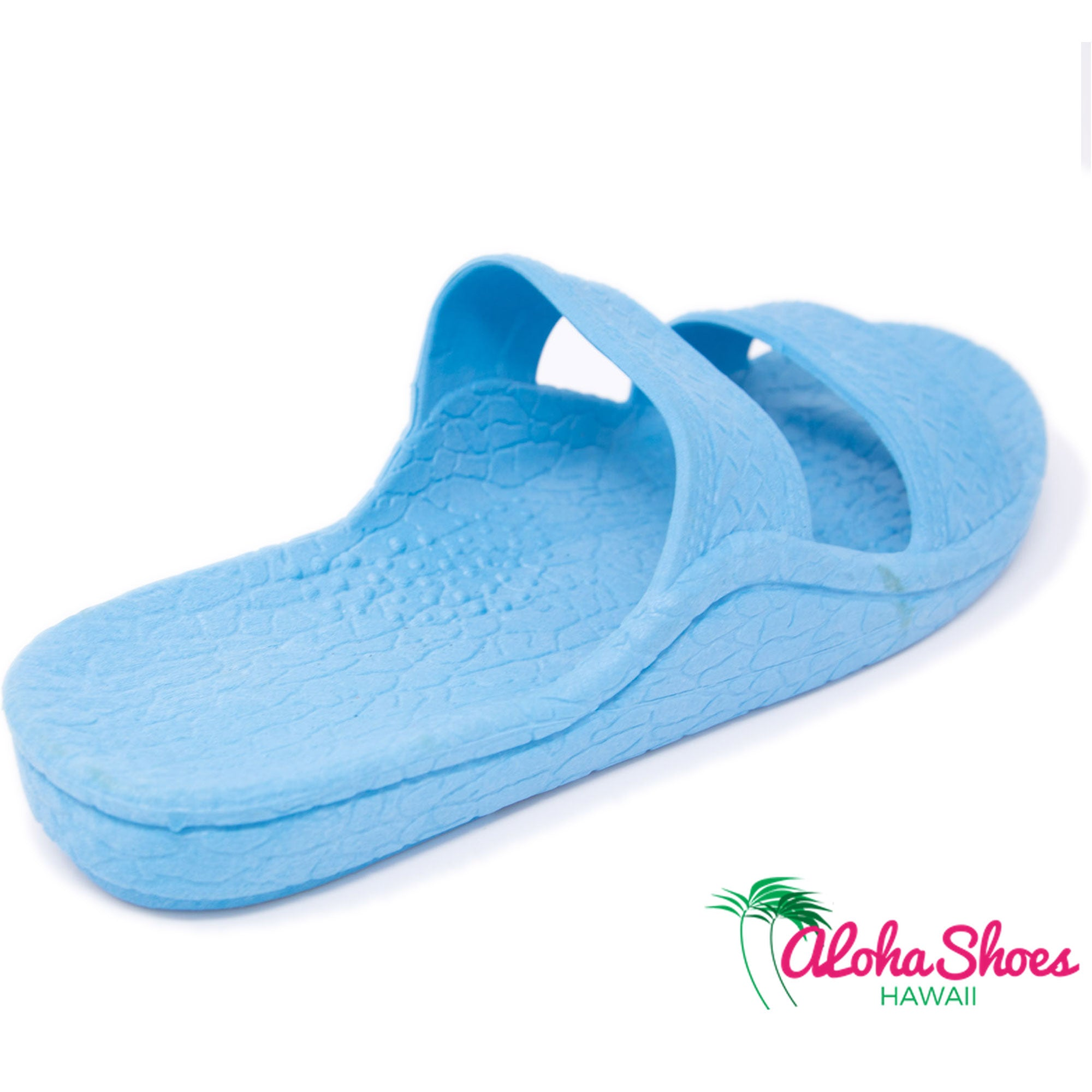 Jandals Sky Blue Pali Hawaii | Waterproof Slide Sandals - AlohaShoes.com