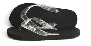 Women's Locals Flip Flops with Clear Straps- AlohaShoes.com