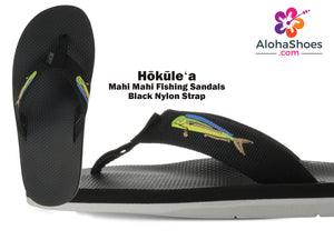 Hokulea Scott Hawaii White Bottom Mens Sandals  [Non Marking Sole]- AlohaShoes.com