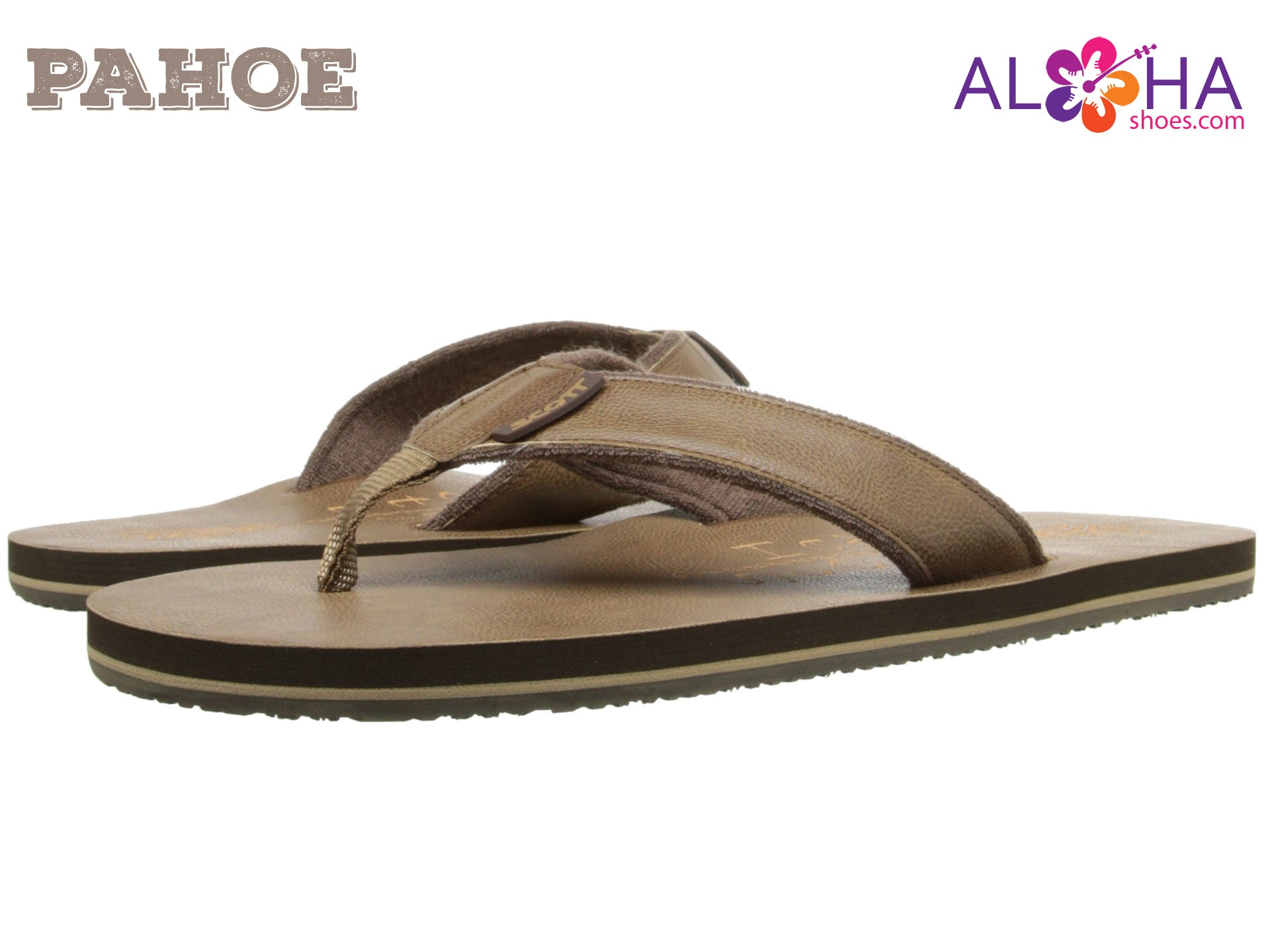 f8b35bc22 Scott Hawaii Men s Pahoe Brown Sandal - AlohaShoes.com