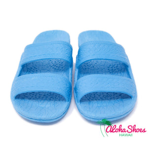 Texas Jandals from Aloha Shoes. Sky Blue Pali Hawaii