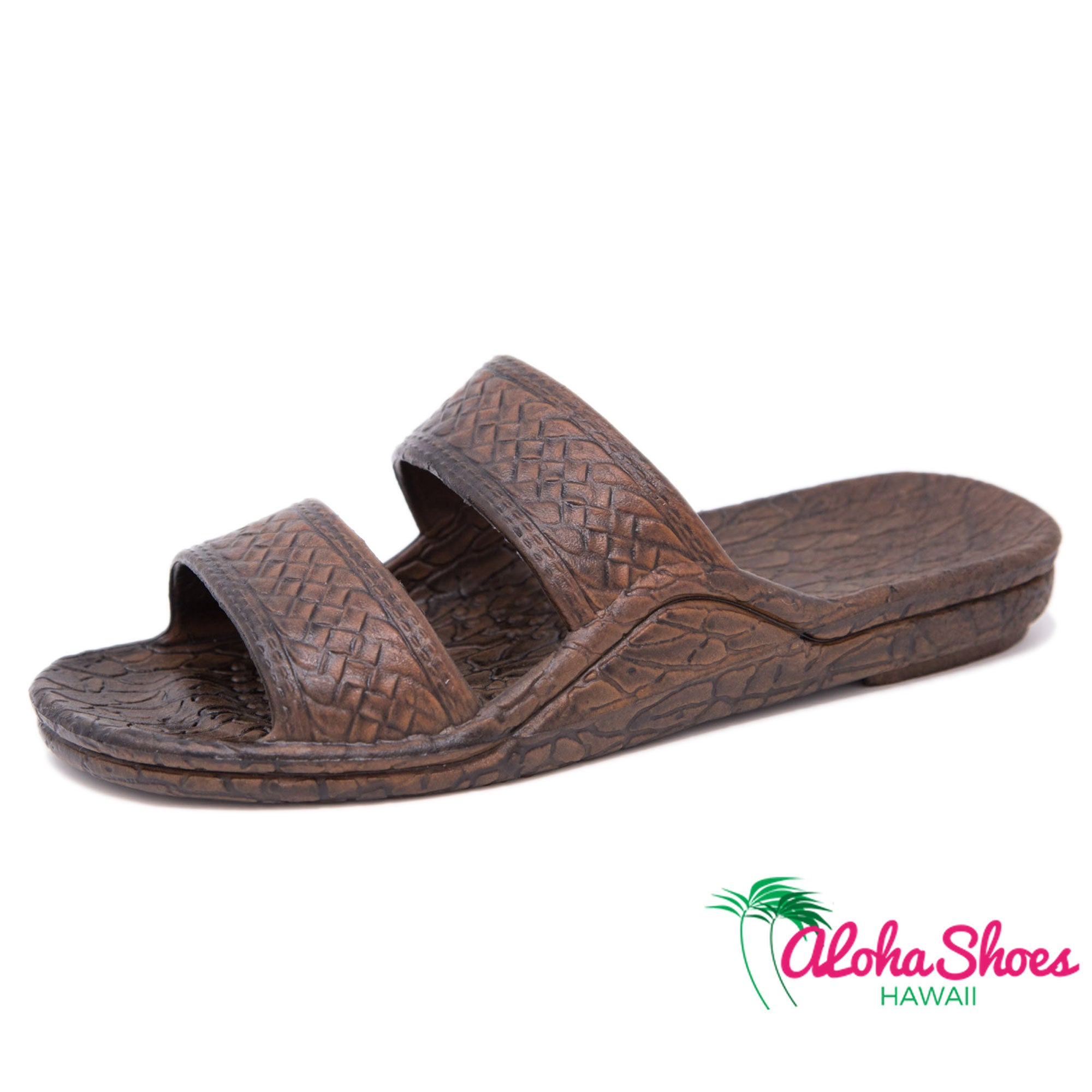 Dark Jesus Sandals From Hawaii at AlohaShoes.com