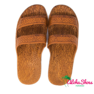 Texas Jandals Light brown From Aloha Shoes