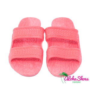 Jesus Sandals In Pink From AlohaShoes.com