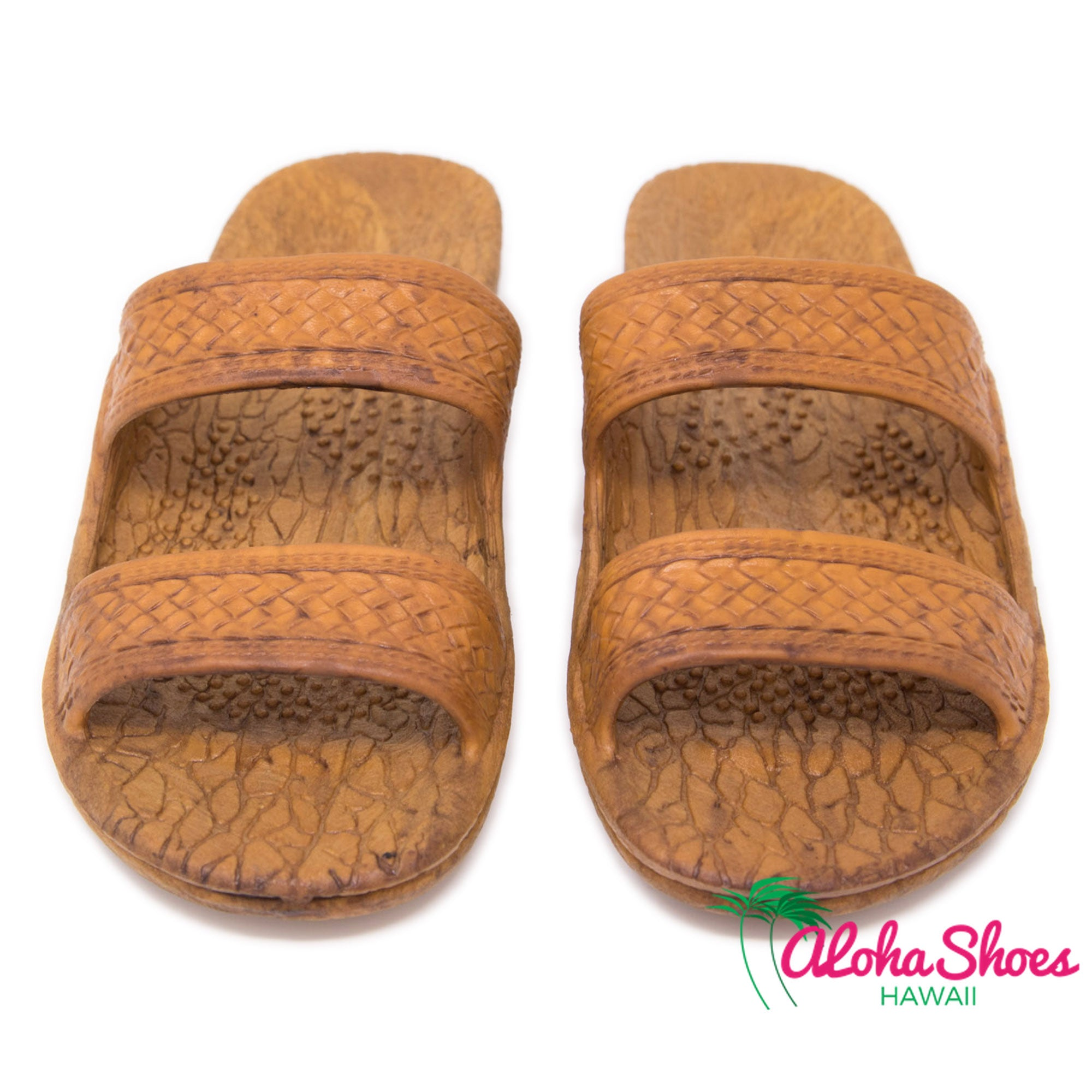Pali Hawaii Jandals Light Brown Classics - AlohaShoes.com