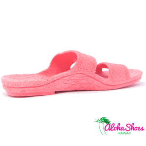 Pink Jandals For Kids from AlohaShoes.com