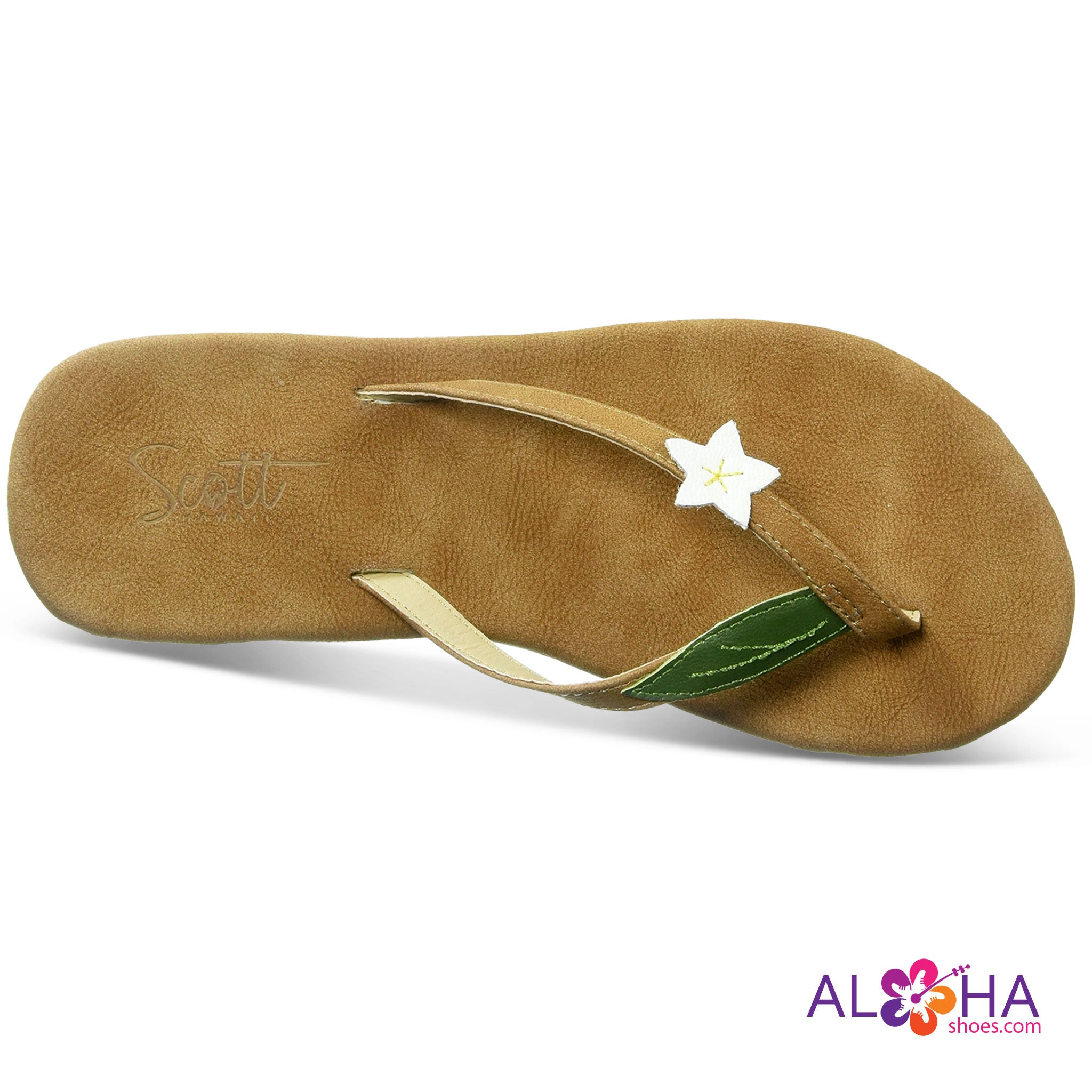 Scott Hawaii Pualani Wedge Vegan Sandals - AlohaShoes.com