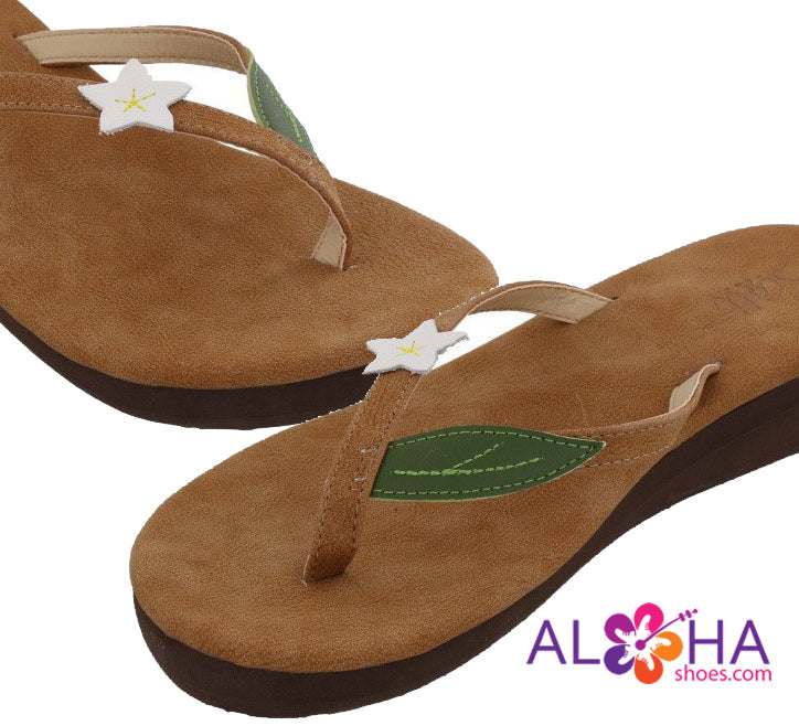 Women's Pualani Wedge Beach Sandals - AlohaShoes.com
