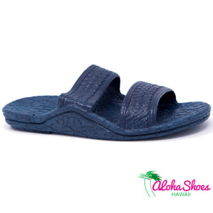 Jesus Sandals Navy from Pali Hawaii at AlohaShoes
