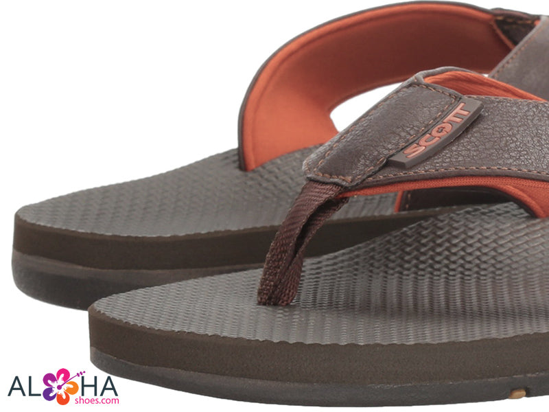 Scott Hawaii Vegan Leather Hunekai Sandals - AlohaShoes.com