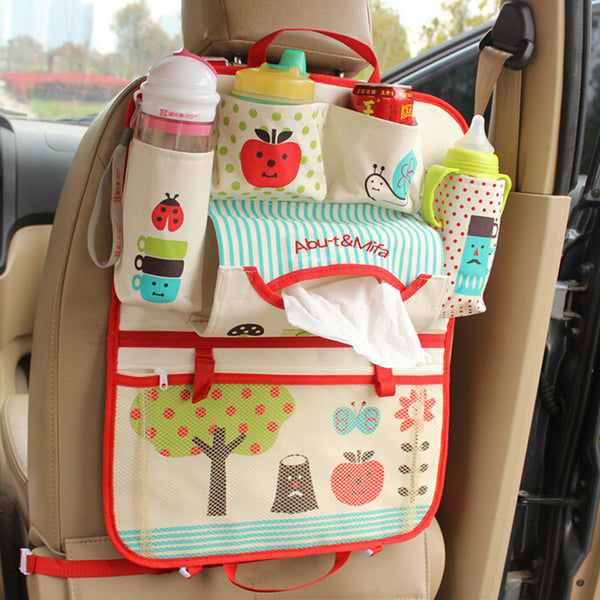 Car Seat & Travel Organizer: Thermal Insulated