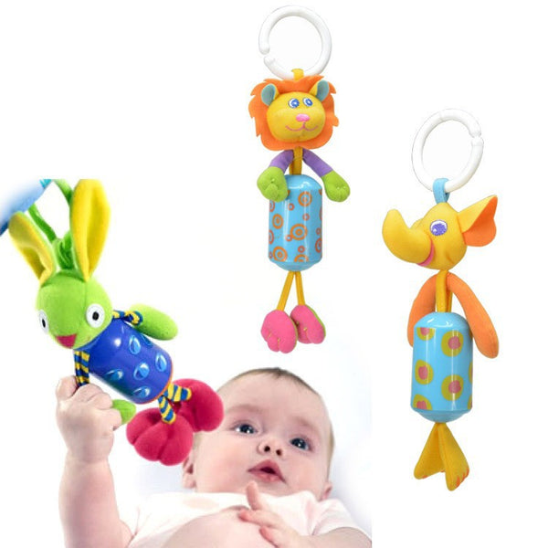 Plush Baby Toys for Carseat, Bed, and Stroller