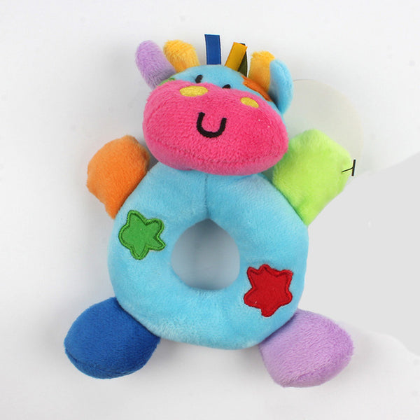 Cute Cotton Plush Toy Rattles