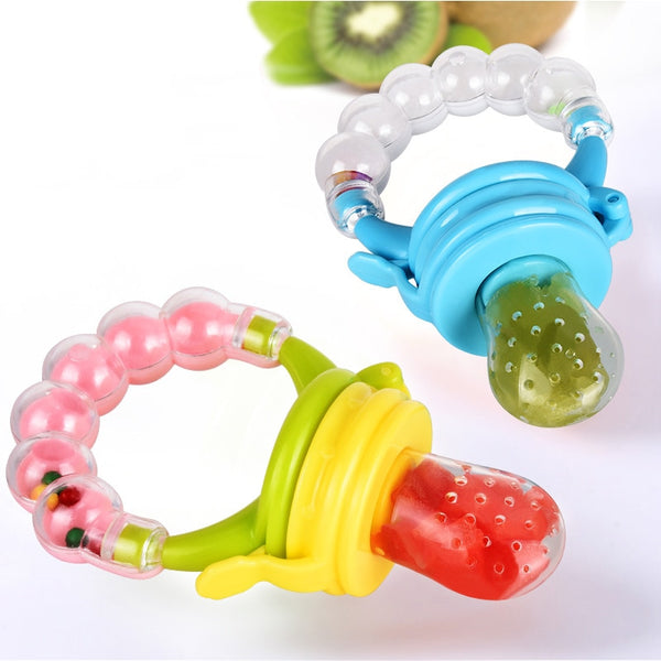 Baby Food Feeder/Fruit Feeder Pacifier- Infant Teething Toy Teether