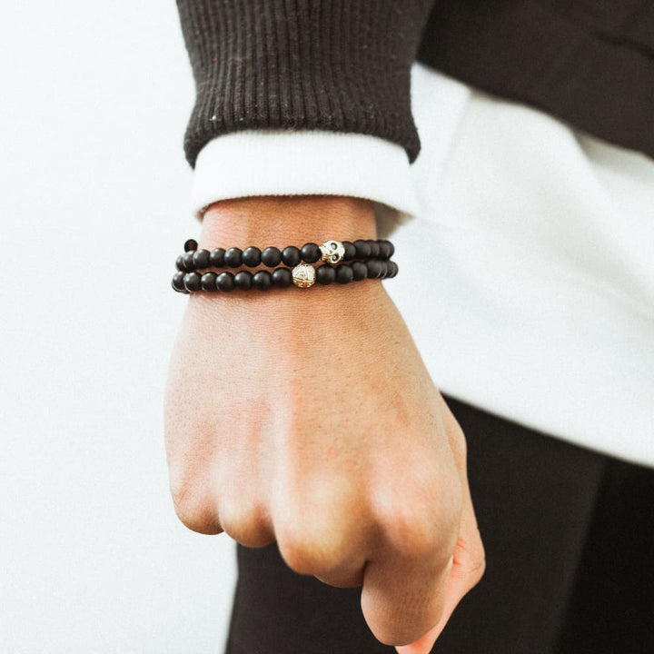 Choose Black And Gold Bracelet Mens For Enhancing Style