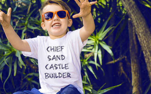 Chief Sand Castle Builder - Toddler Tee