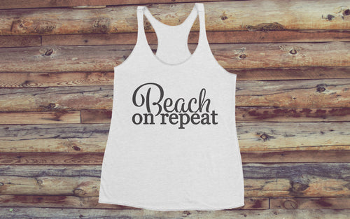 Beach On Repeat Women's Tank