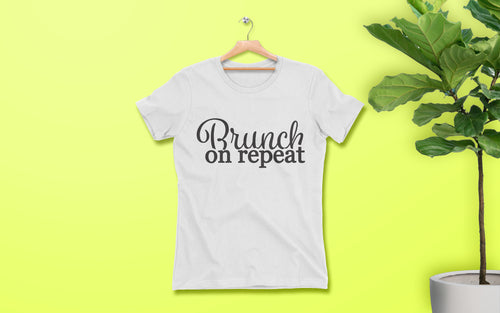 Brunch on Repeat - Women's Tee