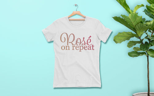 Rosé On Repeat - Women's Tee