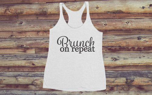Brunch On Repeat - Women's Tank