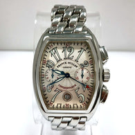 FRANCK MULLER MASTER OF COMPLICATIONS CONQUISTADOR Chronograph Steel Men's Watch