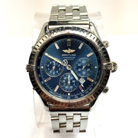 BREITLING Chronometre Date Automatic Steel Men's WATCH Rotating Bezel