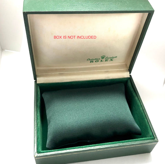 New Hand Made Green Thick Satin Durable PILLOW CUSHION for ROLEX Watch Box