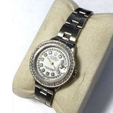 28mm ROLEX OYSTER PERPETUAL DATEJUST SS Ladies Watch w/ DIAMONDS In Box