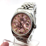 ROLEX Oyster Perpetual Datejust Stainless Steel Quick Ladies Watch In Box
