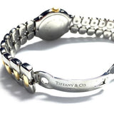 TIFFANY & Co. TESORO 18K Yellow Gold & SS Men's/Unisex Watch w/ DIAMONDS