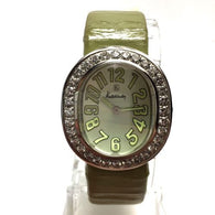 30.5mm KUTCHINSKY L'OVALE Steel Ladies Watch w/ FACTORY DIAMONDS & Original Band