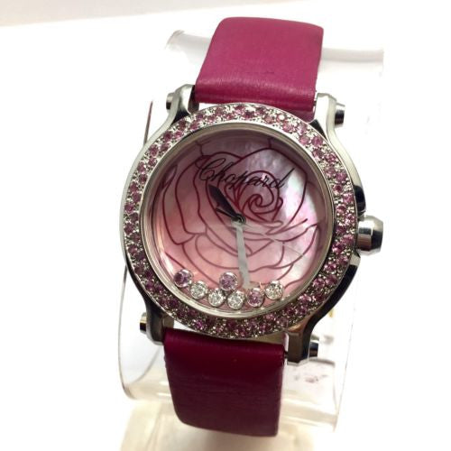 COPARD LA VIE EN ROSE Limited Edition 500 Steel Ladies Watch w/ DIAMONDS