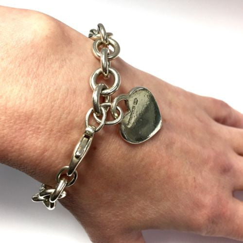 Authentic TIFFANY & Co. Silver BRACELET 36g, Stamped 925,